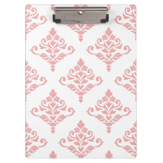 Crestaのダマスク織パターン(b)ピンク