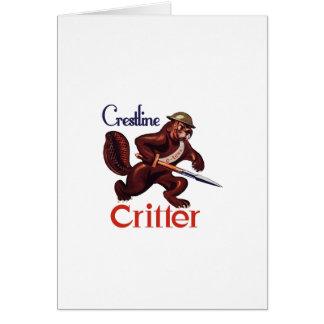 Crestlineの生き物のギア カード