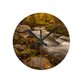 Crestoneの入り江の秋色 ウォールクロック