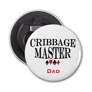 Cribbageの名前入りなマスター 栓抜き
