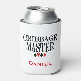 Cribbageの名前入りなマスター 缶クーラー