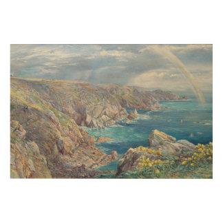 Cribiereからのガーンジー、1862年のサウスコースト(w ウッドウォールアート