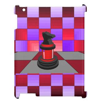 CricketDianeのiPadの場合のチェスの騎士近代美術 iPadケース