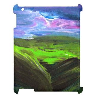 CricketDianeのiPadの場合の景色の抽象芸術のモダン iPadカバー