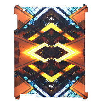 CricketDianeのiPadの場合モダンな都市都市芸術 iPadケース