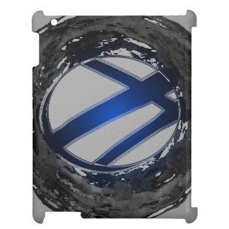 CricketDianeのiPadの場合青くモダンな色のデザイン2 iPadケース