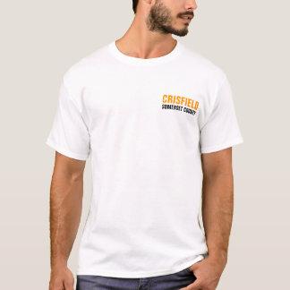 Crisfield都市、メリーランド Tシャツ