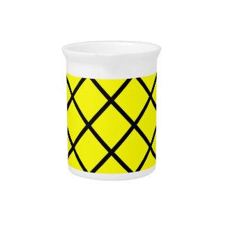 Criss黄色く黒い十字ライン ピッチャー