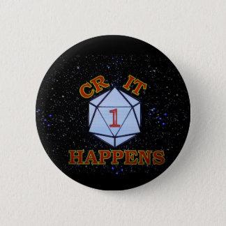 CritはNat. 1起こります 5.7cm 丸型バッジ