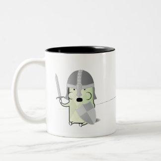 Critter勇敢の ツートーンマグカップ