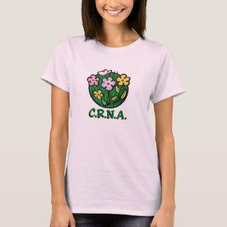 CRNAのナースの開花 Tシャツ
