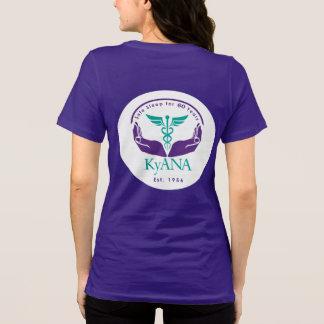 CRNA田園アメリカのロゴ Tシャツ