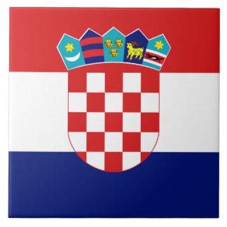 Croatian Flag Tile タイル