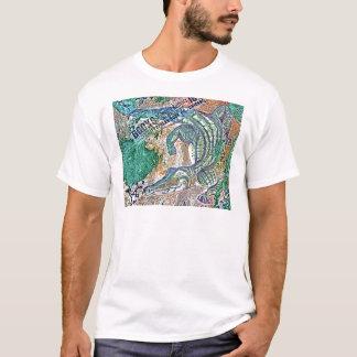 Crocの混合メディアの後でYaのより遅いわにを、しばらく見て下さい Tシャツ