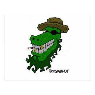 Croc大尉 ポストカード