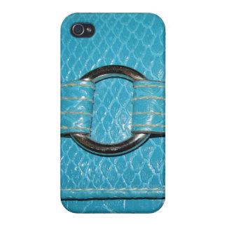 Croc青いIphone4の箱 iPhone 4 Cover