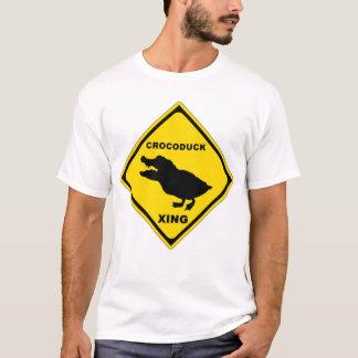 Crocoduckの交差 Tシャツ