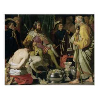 Croesusおよび国会議員1624年 ポスター