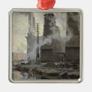 Croix-Wasquehalの発電所 メタルオーナメント