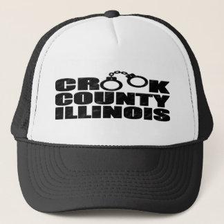 Crook郡IL キャップ