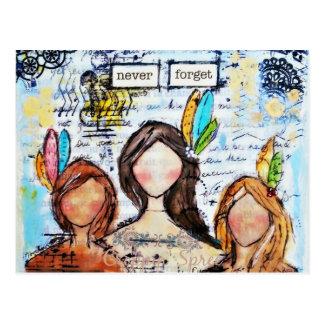 Croppinの酒宴による芸術 ポストカード