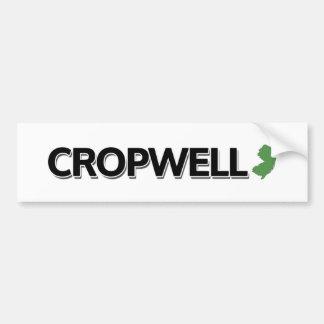 Cropwell、ニュージャージー バンパーステッカー