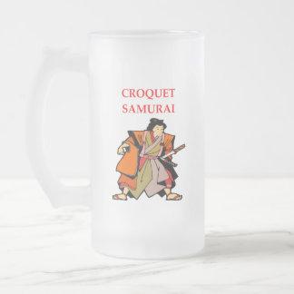 CROQUET フロストグラスビールジョッキ