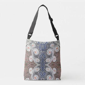 Cross-body Tote Bag, Original Art. クロスボディバッグ