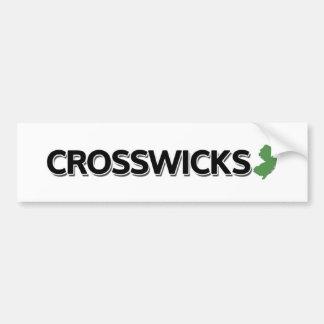 Crosswicks、ニュージャージー バンパーステッカー
