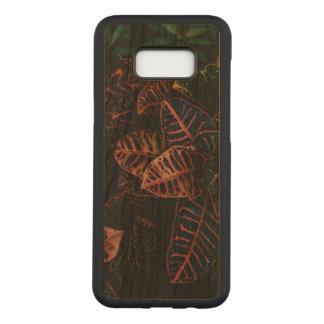 CrotonのSamsungの銀河系S8+ 細いさくらんぼ木箱 Carved Samsung Galaxy S8+ ケース