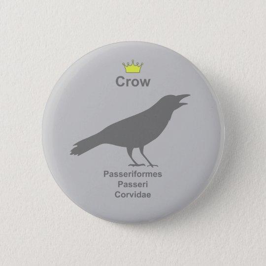 crow g5 5.7cm 丸型バッジ