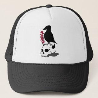 crow-skull キャップ