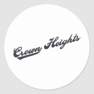 Crown Heights ラウンドシール
