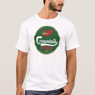 Crowntail Betta Tシャツ