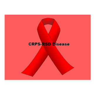 CRPS-RSDの病気 はがき