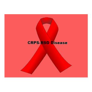 CRPS-RSDの病気 ポストカード