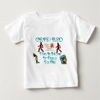 CRPS RSDはこれ私にホツプをいかに感じるかです ベビーTシャツ