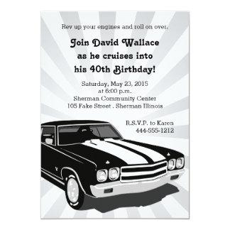 Cruisinのパーティの招待状 カード