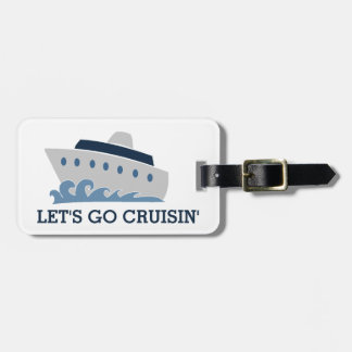 Cruisinの漫画の行こう遊航船 ラゲッジタグ