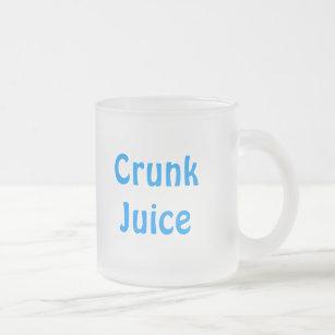 Crunkジュース フロストグラスマグカップ