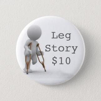 CRUTCHESLARGE、LegStory$10 缶バッジ