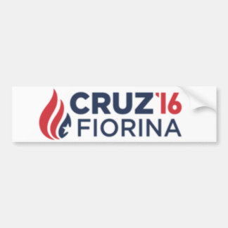 Cruz Fiorina バンパーステッカー