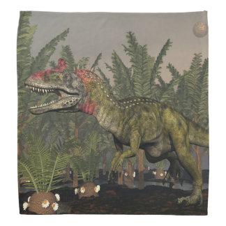 Cryolophosaurusの恐竜- 3Dは描写します バンダナ