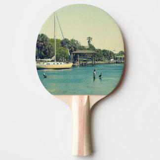 Crystal川の生命 卓球ラケット