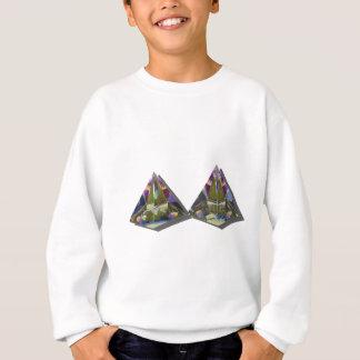 CrystalPyramid030111 スウェットシャツ
