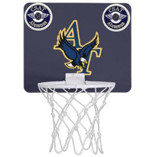 CSATの運動競技か卒業生の小型バスケットボールのゴール ミニバスケットボールゴール