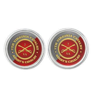 CSC第7ヴァージニアの騎兵隊(Ashbyの騎兵隊) カフスボタン