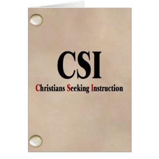 CSIのクリスチャン カード