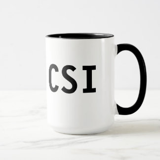 CSIのマグ マグカップ