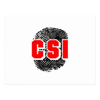 CSIの指紋 ポストカード